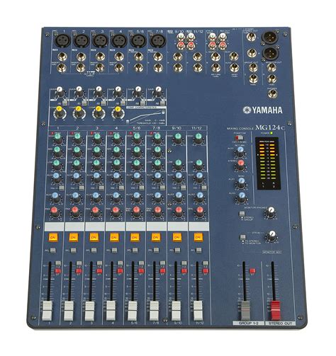 Harga Mixer Audio 4 Channel Yamaha yamaha mg124c stereo mixer zzounds