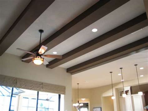 wood beams on ceiling faux wood beams