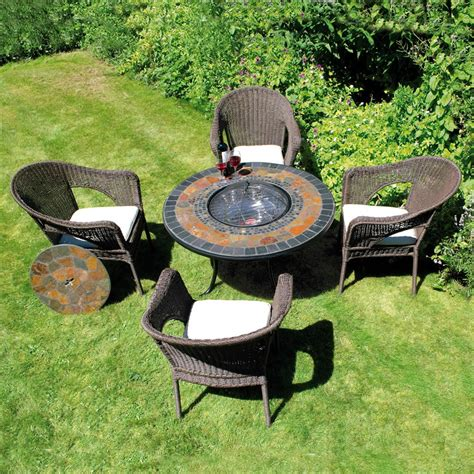 Firepit Table And Chairs Pit Tables And Chairs Marceladick