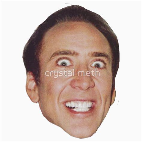 Nicolas Cage Face Meme - nicolas cage crazy face meme