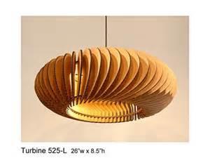 Cardboard Lighting Fixtures Pendant Lighting Turbine 525l Laser Cut By Rusticluxmodern