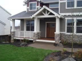 Halgren construction exterior stone veneer and deck