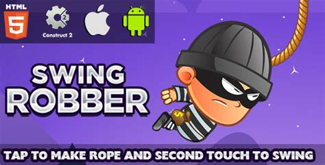 Swing Robber Html5 Game Capx By Freakxapps Codecanyon
