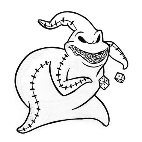 Nightmare Before Characters Coloring Pages Nightmare Before Christmas Coloring Pages Oogie Boogie by Nightmare Before Characters Coloring Pages
