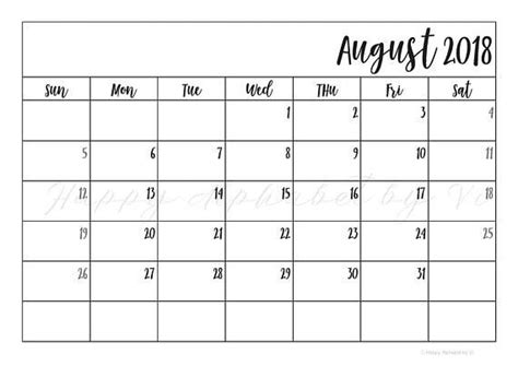 printable planner 2018 pdf printable monthly planner 2018 pdf listmachinepro com