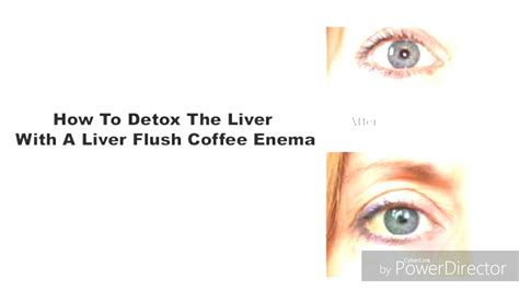 Coffee Liver Detox by Amazing Liver Coffee Cleanse Detox Shows What