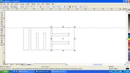 tutorial desain huruf tutorial coreldraw desain logo grafis corporate identity