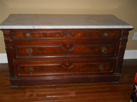 Marble Top Antique Dresser by Antique Price Guide