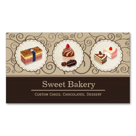 Free Printable Bakery Business Card Templates by 17 Best Images About Bakery Business Cards On