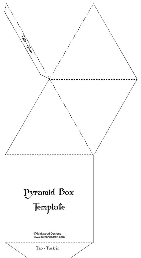 templates for pyramid boxes box pyramid lrg gif 528 215 970 packaging brief