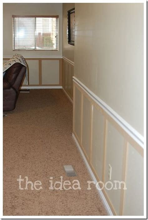 diy chair rail wainscoting best 25 faux wainscoting ideas on dining room