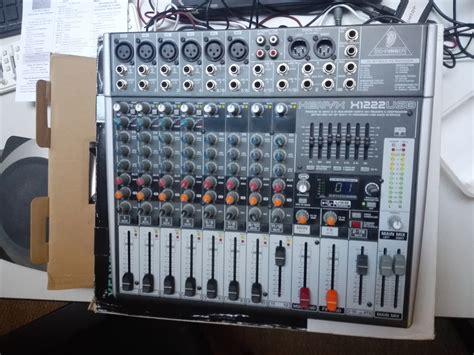 Mixer Xenyx X1222usb behringer xenyx x1222usb image 1553387 audiofanzine