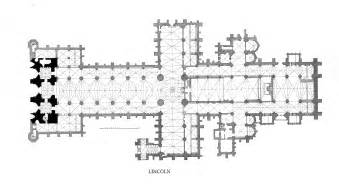 floor plan of cathedral lincoln minster plans and drawings