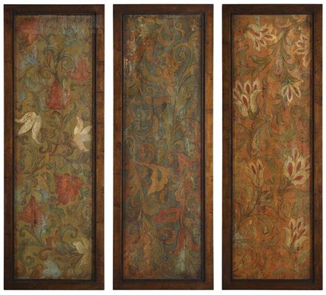 Uttermost Panels uttermost 50958 damask panels traditional wall um 50958