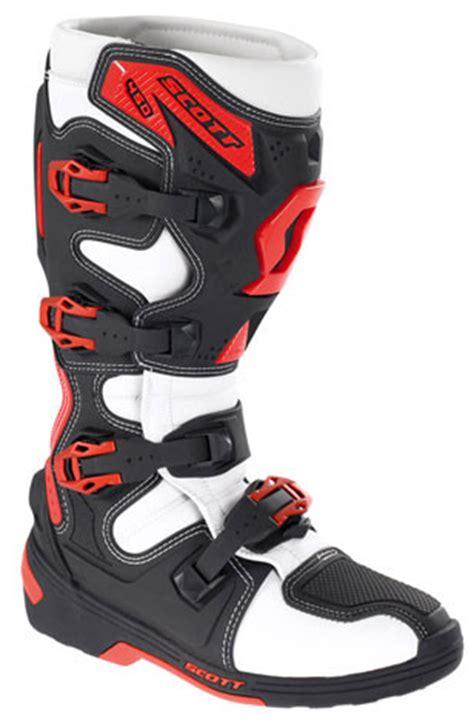 scott motocross boots scott more than goggles 2011 intro motocross feature