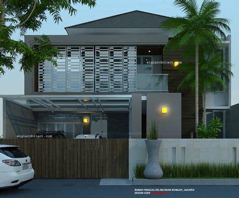 Depan Susun Minimalist Depan Susun Minimalist Jati Depan Susun Jati desain rumah 2 lantai minimalis tropis modern fasade depan design rumah modern
