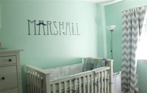 Mint Blau Wandfarbe by Wandfarbe Mintgr 252 N F 252 R Kinder Und Babyzimmer 50 Ideen