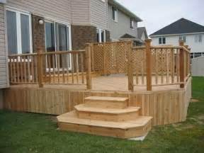 Back Stairs Design How To Build Deck Stairs