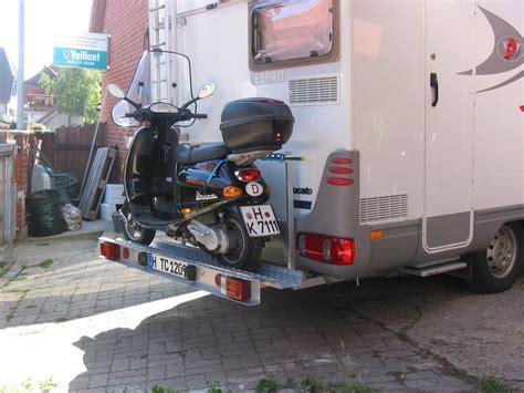 Motorrad Hebeb Hne F R Wohnmobil by Motorrollertr 228 Ger Selber Bauen Wohnmobil Forum Seite 1