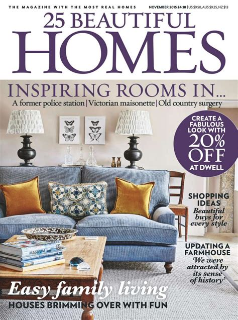 home design magazines 2015 25 beautiful homes november 2015 by umberto diniz issuu