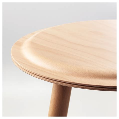 ikea ps 2017 side table stool beech ikea