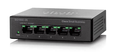 Switch Gigabit 5 Port cisco sg100d 05 5 port gigabit desktop switch cisco