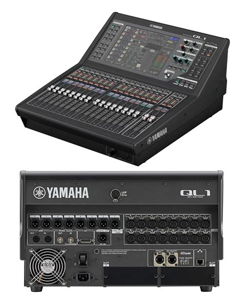 Mixer Yamaha Ql Series yamaha ql series ql1 ql5 location sound