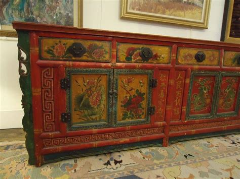 gorgeous hand painted chinese sideboard cabinet at 1stdibs