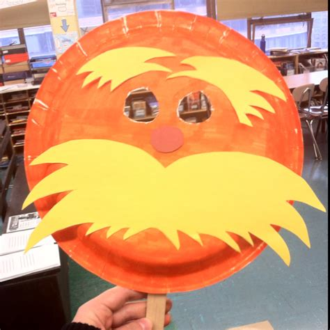 printable lorax mask crafts archives page 2 of 2 events to celebrate