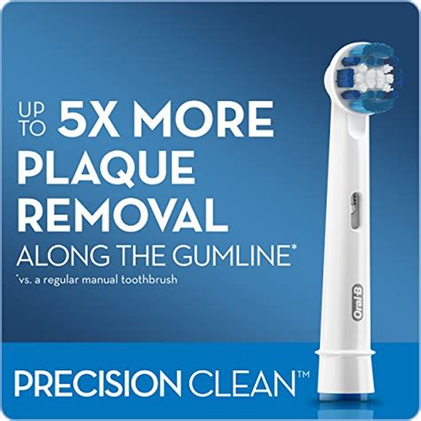 B Precision Clean Brush Heads Refill Isi 2 b precision clean electric toothbrush replacement brush import it all