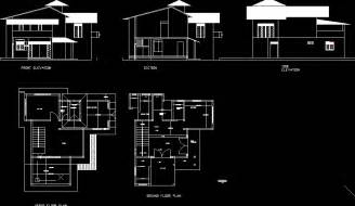 home autocad drawing simple house plan autocad home design and style