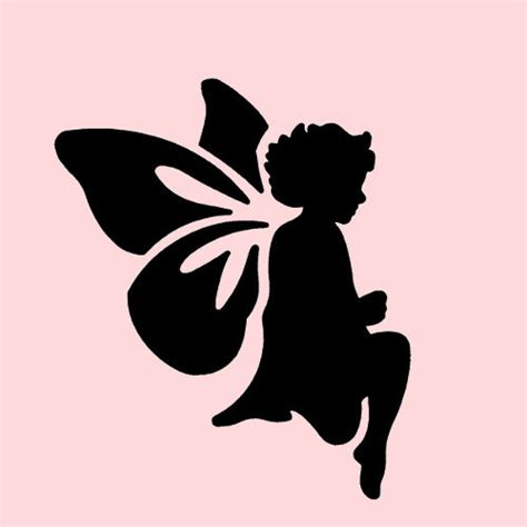 How To Make Scrapbook Cards - fairy stencil stencil fairies wing wings craft scrapbook template new 5 quot x 7 quot ebay