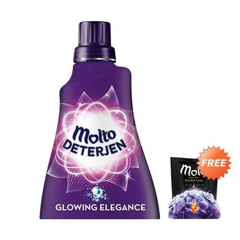 jual molto liquid detergent purple bottle 1l free