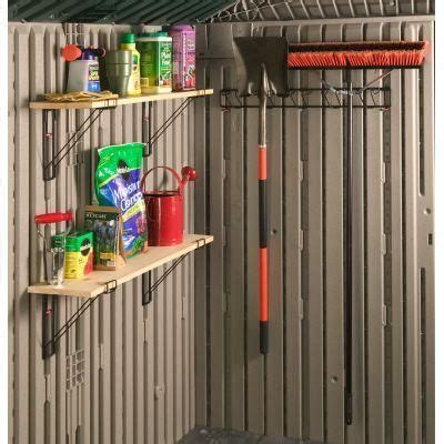 diy shed plan rubbermaid shed accessories   build