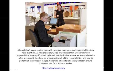 learn more about bank teller and salary