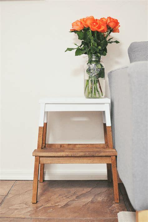 tunear muebles ikea una escalera de madera  mil   usos decomanitas