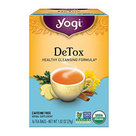 Yogi Detox Tea Benefits by Yogi Detox Tea Rank Style