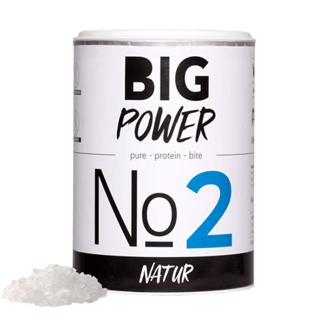 power bid big power no2 big power schinken chips protein bite