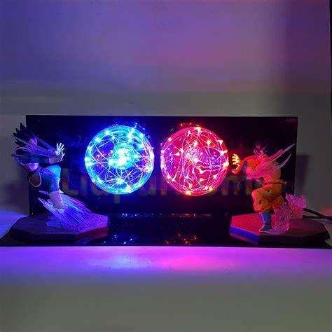 dragon ball z led l dragon ball z son goku vs vegeta lara led night light