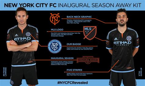 Bahan Ny Barcelona Away 17 18 black new york city fc new away kit 2015 adidas nycfc
