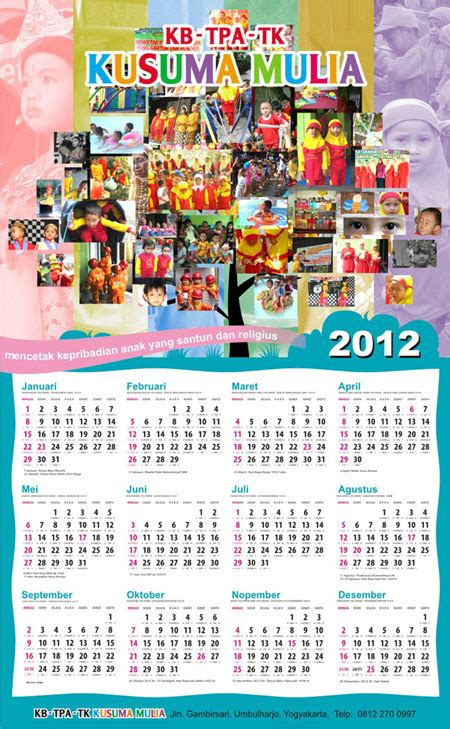 desain kalender tk 274 grafis just another graphic designer site page 3