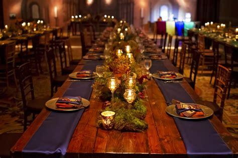 Dining Room Christmas Decorations ce couple a fait un mariage sur le th 232 me d harry potter et