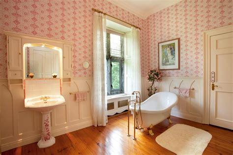 Bathroom Wallpaper Ireland Pink Photos Hgtv