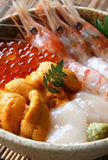 Eyewear Sashii 5 sashimi sea urchins and sweet shrimp on