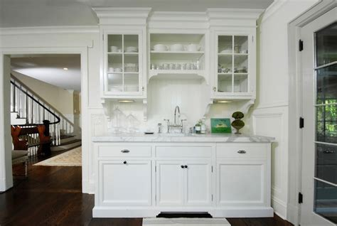 Wood Mode Kitchen Cabinets by Butler S Pantry Ideas Transitional Kitchen Muse Interiors