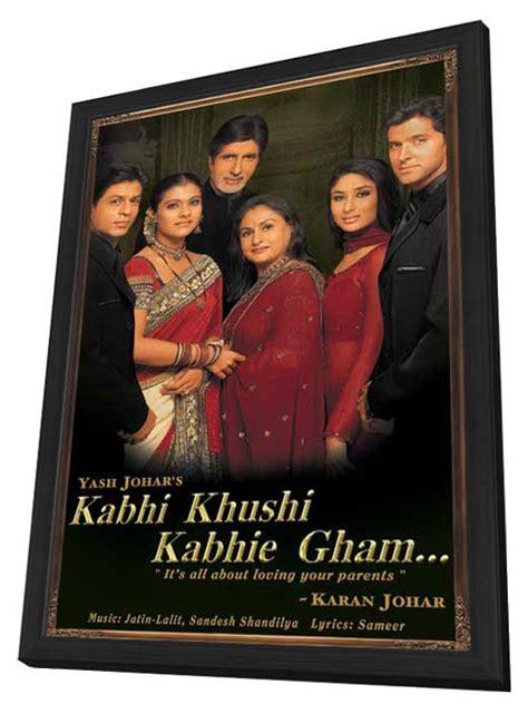 film full movie kabhi khushi kabhie gham kabhi khushi kabhie gham movie posters from movie