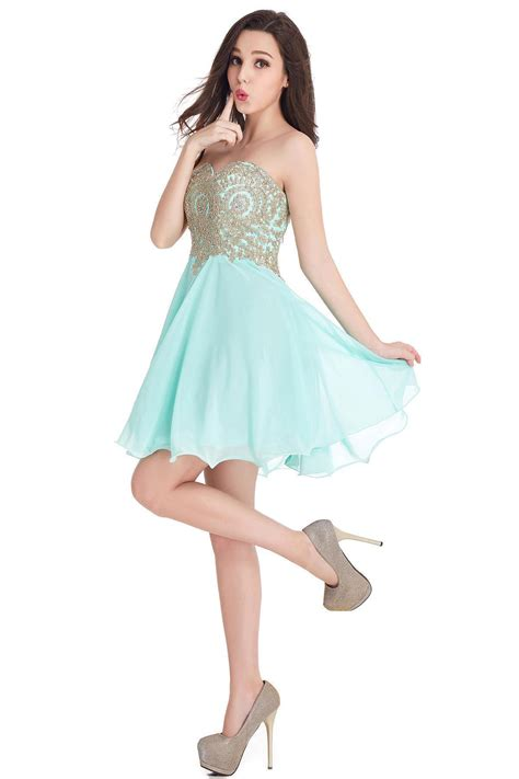 appliques for dresses cheap short 2018 mini sweetheart appliques homecoming
