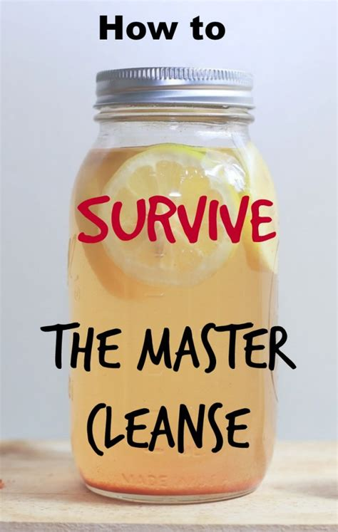 Coming The Master Cleanse Lemonade Detox Diet by The Master Cleanse Recipe And Directions