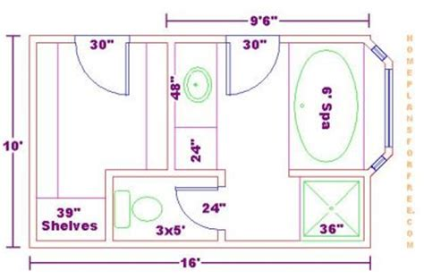 bathroom floor plans free click to view full size image