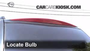 2003 Cadillac Escalade Light Third Brake Light Bulb Change Cadillac Escalade 2002 2006